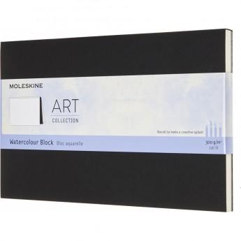 Блокнот MOLESKINE ART WATERCOLOR XLARGE, нелинованный, черный