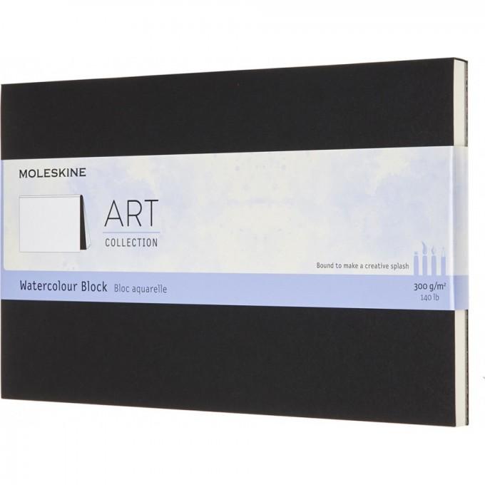 Блокнот MOLESKINE ART WATERCOLOR, нелинованный, черный ARTWBL10