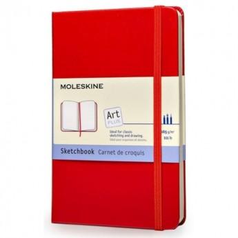 Блокнот для рисования MOLESKINE CLASSIC SKETCHBOOK LARGE, нелинованный, красный