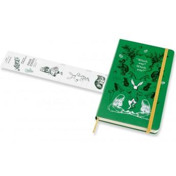 Еженедельник MOLESKINE ALICE IN WONDERLAND (зеленый)