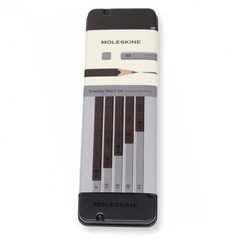 Набор карандашей чернографитных MOLESKINE DRAWING SET EW7P05GPHA